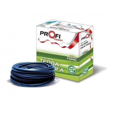 Теплый пол ProfiTherm 19 Вт/м двухжильный кабель 1450 Вт 7,6 - 9,5 м2