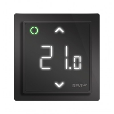 Терморегулятор DEVI DEVIreg Smart Pure Black