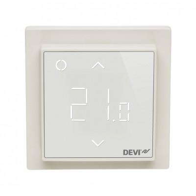 Терморегулятор DEVI DEVIreg Smart Pure Ivory